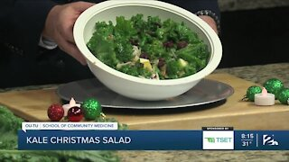 Shape Your Future Healthy Kitchen: Kale Christmas Salad
