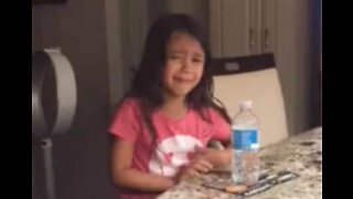 Little girl cries over inability to find a husband
