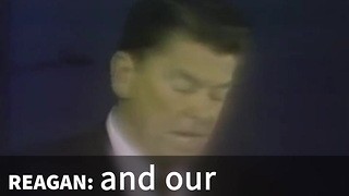 Ronald Reagan Knows What Colleges Are Supposed To Promote - Video