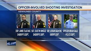 Decision coming Tuesday in Kewaunee County officer-involved shooting death - Video
