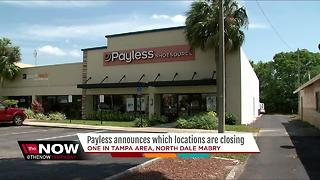 Payless Shoesource files bankruptcy, will close 400 locations nationwide - Video
