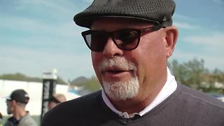Bruce Arians thinks Larry Fitzgerald is coming back - ABC15 sports - Video