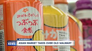 Empty Walmart reborn as massive Asian market