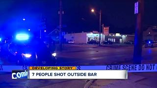 7 people shot outside Cleveland bar following music video shoot
