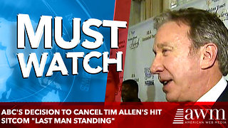 Tim Allen 'Stunned, Blindsided' by ABC Canceling 'Last Man Standing' - Video