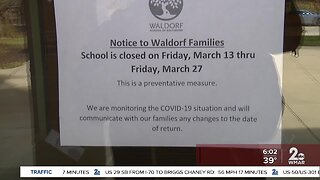 Maryland schools closed for two weeks