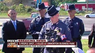 5 shot, 3 dead after shooting at Emmorton Business Park - Video
