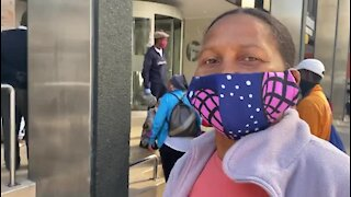 WATCH: Scores of elderly Cape residents camp outside Sassa offices (LPo)
