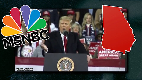 Trump Rallies Are Back, President Encourages Georgia To Vote & MSNBC Plays the Victim Card | Ep 100