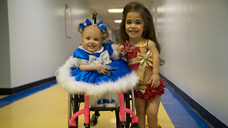 Disabled Sisters Are Queens Of Beauty Pageant | BORN DIFFERENT - Video