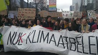 Thousands Join Climate Action March in Brussels - Video