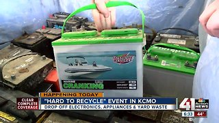 KCMO residents recycle hazardous materials free at city-sponsored event