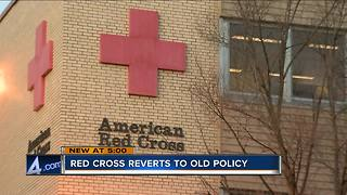 Red Cross rescinds new ZIP Code policy after community criticism - Video