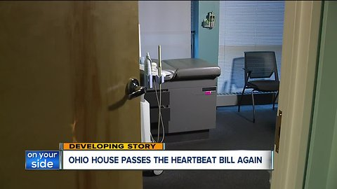'Heartbeat bill' prohibiting abortions after heartbeat is detected passes OH House, heads to Senate