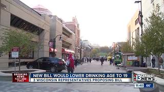 New Wisconsin bill would lower drinking age - Video