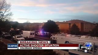 Colorado Springs Police respond to 'active shooting' scene; no injuries reported - Video