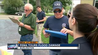 FEMA tours flood damaged areas of SE Wisconsin - Video