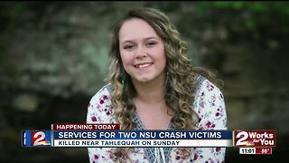 Funeral services start for NSU crash victims - Video
