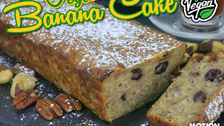 Vegan banana cake recipe - Video