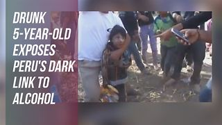 Will this viral video of a drunk child wake Peru up? - Video