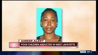 Amber Aler tissued for four kids from West Lafayette - Video