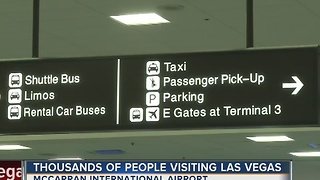 Thousands visiting Las Vegas for Thanksgiving