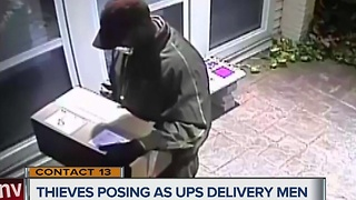 CONTACT 13: Package thieves dress up as UPS delivery men - Video