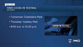 Free COVID-19 testing in Lee County