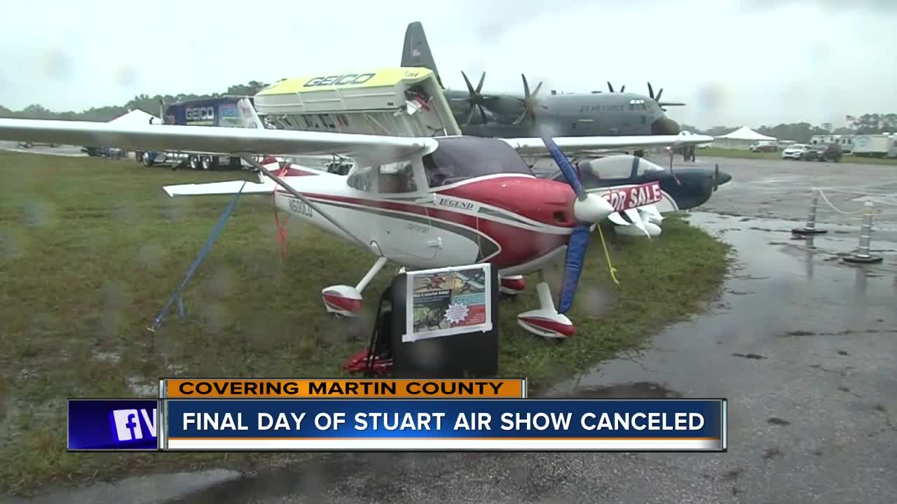 Final day of Stuart Air Show canceled