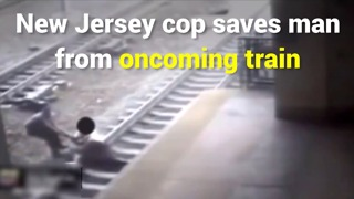 New Jersey Man Saved From Train - Video