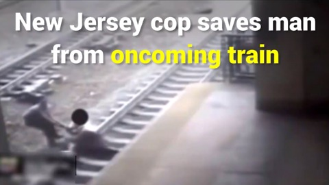 New Jersey Man Saved From Train