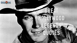 Great Hollywood legends quotes - Video