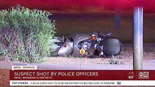 Mesa police involved in deadly shooting overnight