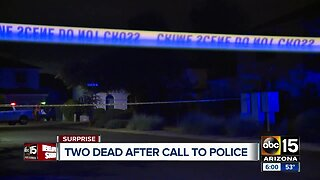 Surprise police: Man and woman found shot to death in car
