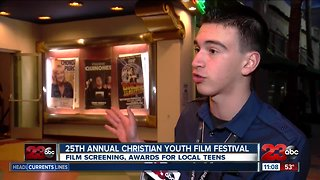 On the red carpet for the 25th Annual Christian Youth Film Festival
