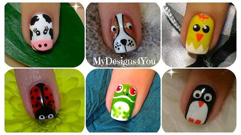 - Cute Animal Nail Art: Volume 1