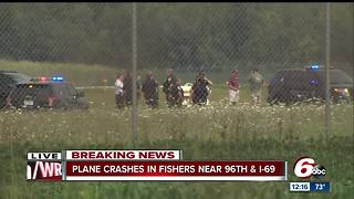 Pilot making final approach at Metro North Airport in Fishers crashed Thursday morning - Video