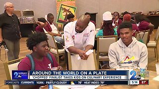 Around the world on a plate