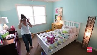 Toddler bedroom makeover with Elissa the Mom | Rare Life - Video