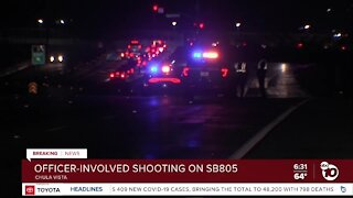 CHP officers open fire after pursuit ends in Chula Vista
