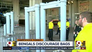 Security set at Paul Brown Stadium for home opener - Video