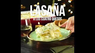 Lasagna with the Four Cheeses