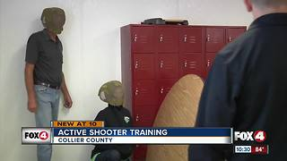 Active shooter training in Collier County - Video