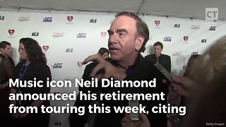 Neil Diamond Retiring From Touring - Video