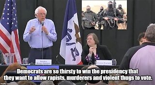 Bernie Sanders wants convicted murderers and rapists to vote from jail