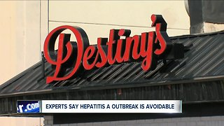 Experts say Hepatitis A cases are avoidable