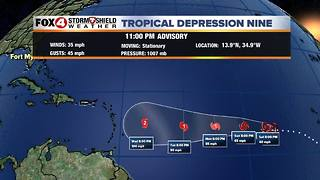 Tropics Update 9-7 Late PM