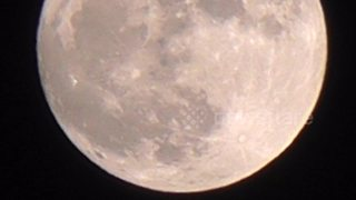New Year Supermoon lights up the sky over St Ives, Cornwall - Video
