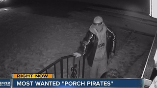 Porch pirates continue to strike right up through the holidays