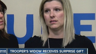 Trooper Donahue's widow gets big surprise - Video